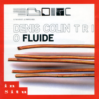 Denis Colin trio Fluide